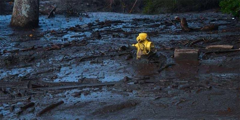 حصيلة جديدة لضحايا انزلاقات التربة في كاليفورنيا