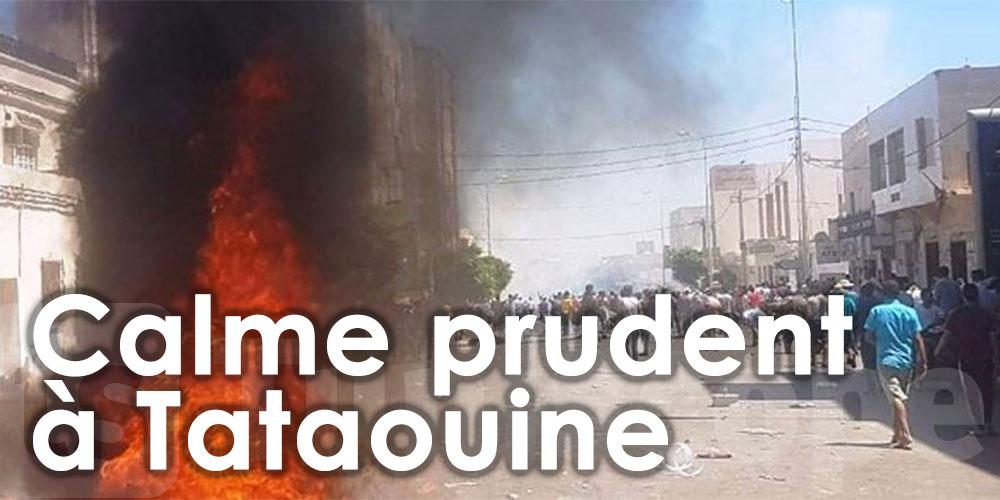 Un calme prudent règne à Tataouine après une nuit agitée