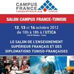 Salon Campus France-tunisie : Le premier salon de l'enseignement supérieur français et des diplômations Tuniso-françaises