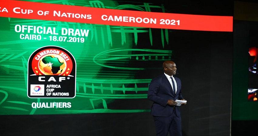 نتائج قرعة تصفيات امم افريقيا 2021