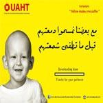 Yellow Makes me Suffer : Campagne pour la lutte contre le cancer des enfants