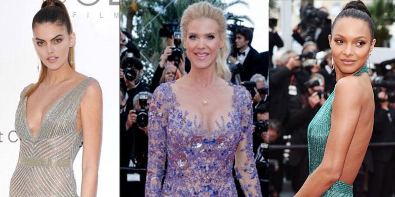 En photos : Les robes du créateur tunisien Ali Karoui font sensation au festival de Cannes