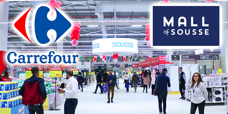 En vidéo : Découvrez le sublime Carrefour Mall of Sousse