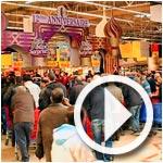 En vidéo la foule au démarrage du 12ème anniversaire de Carrefour