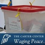 Election de l'assemblée : Rapport du Centre Carter