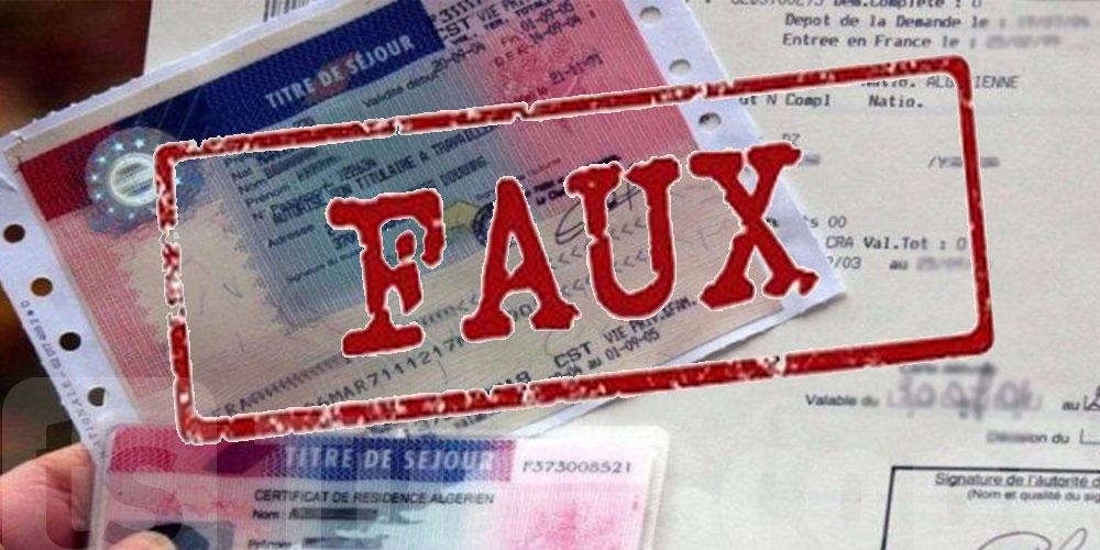 Ils veulent partir en Europe avec des cartes de séjours falsifiés