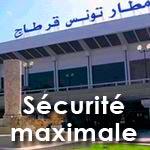 L'Aéroport Tunis-Carthage sous haute sécurité