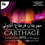 Programme festival Carthage 2010