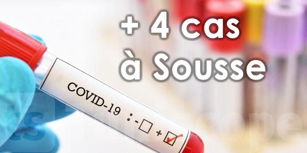 4 nouveaux cas locaux à Sousse