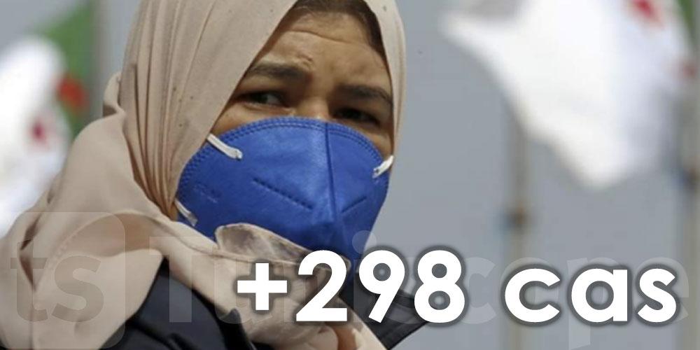 298 nouveaux cas en Algérie en 24 heures