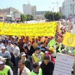 Maroc: importante manifestation pour dénoncer la situation sociale