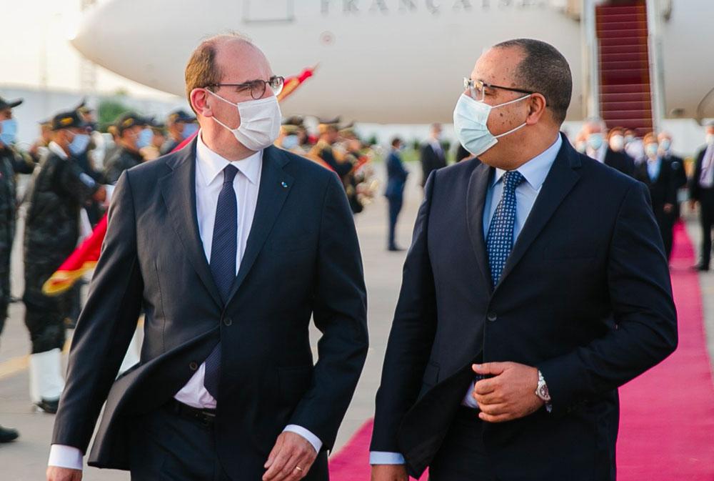 En photos : Accueil chaleureux de Jean Castex à Tunis