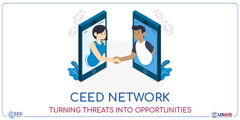 CEED Tunisia à la rescousse des entrepreneurs pénalisés par le Covid-19 avec CEED Network