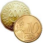 La nouvelle pièce de 200 millimes vaudra finalement moins de 10 centimes d'euro