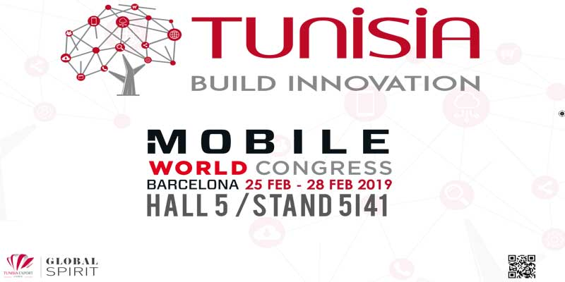 Le CEPEX accompagne 15 ''Start up '' et 9 PME Tunisienne participent au Salon '' Mobile World Congress '' 2019  à Barcelone