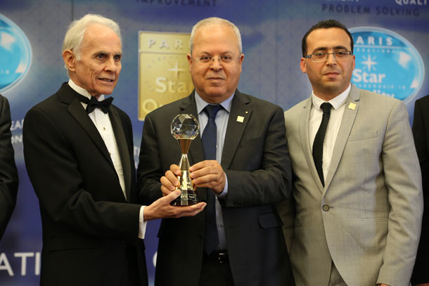 La CFTI reçoit le Prix International Star for Leadership in Quality 2016