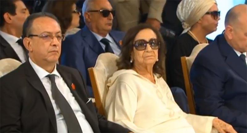 بالصور: الظهور الأول لشدلية قايد السبسي أرمة الرئيس الراحل