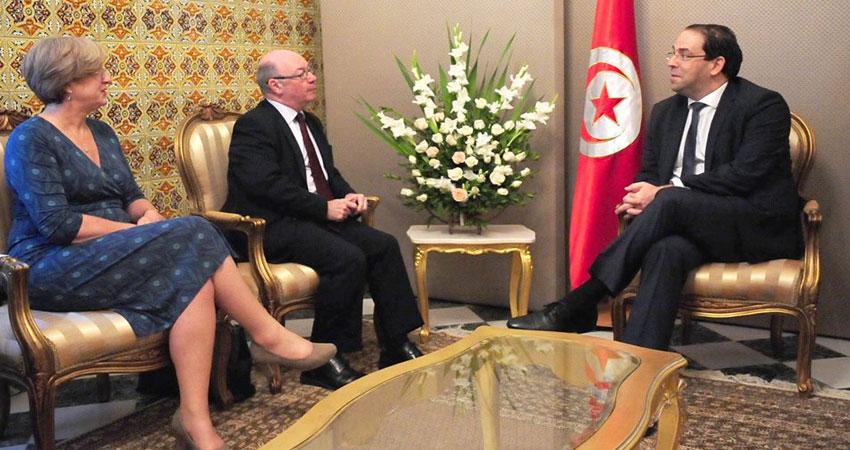 الشاهد يلتقي كاتب الدولة البريطاني المكلّف بالشرق الأوسط وشمال أفريقيا