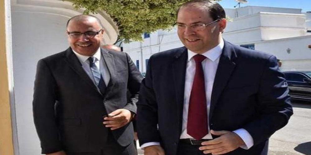 رئيس الحكومة يلتقي بيوسف الشاهد