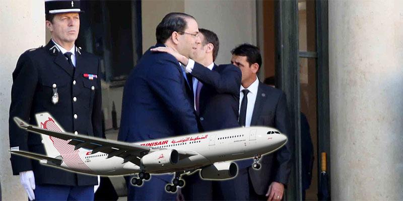 العزابي، الشاهد عاد من زيارته الرسمية من باريس في طائرة تونيسار ''عملت روتار ''