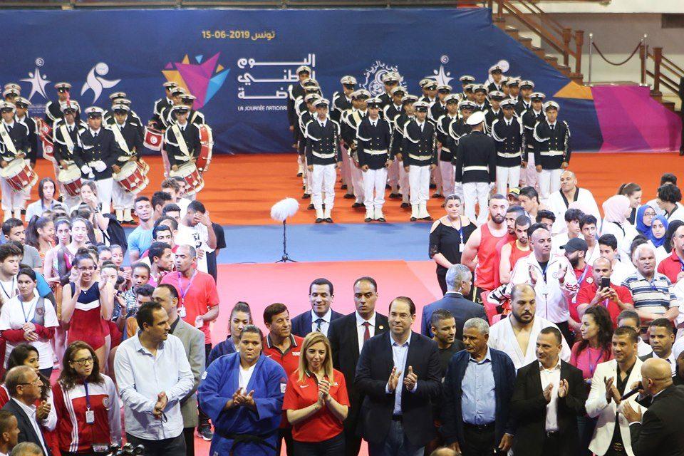 صور من فعاليات الاحتفال باليوم الوطني للرياضة