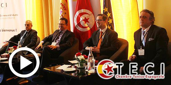 En vidéo : Lancement de la Chambre Tuniso-Espagnole de Commerce et d'Industrie