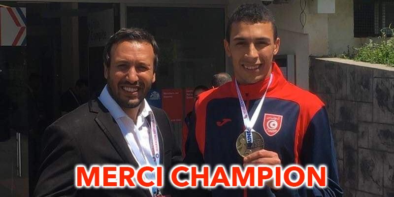 Un accueil misérable pour un champion tunisien