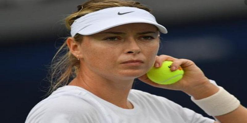 أستراليا: دخان الحرائق يجبر بطلة التنس شارابوفا على الانسحاب