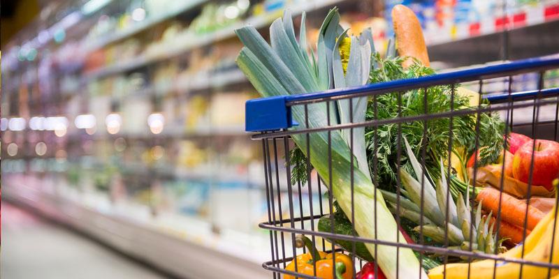 Coronavirus : Multiplication des achats de produits alimentaires par 10