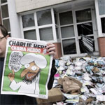 Après l'attaque de Charlie Hebdo : Les vrais musulmans n'incendient pas les journaux ...