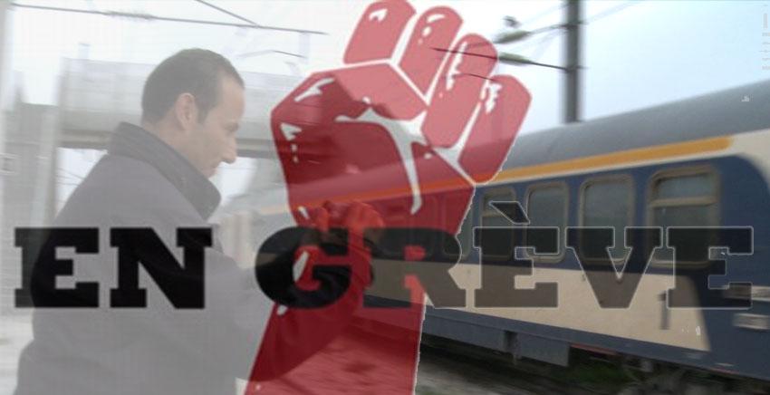 للمرة الثانية..تأجيل اضراب أعون السكك الحديدية<