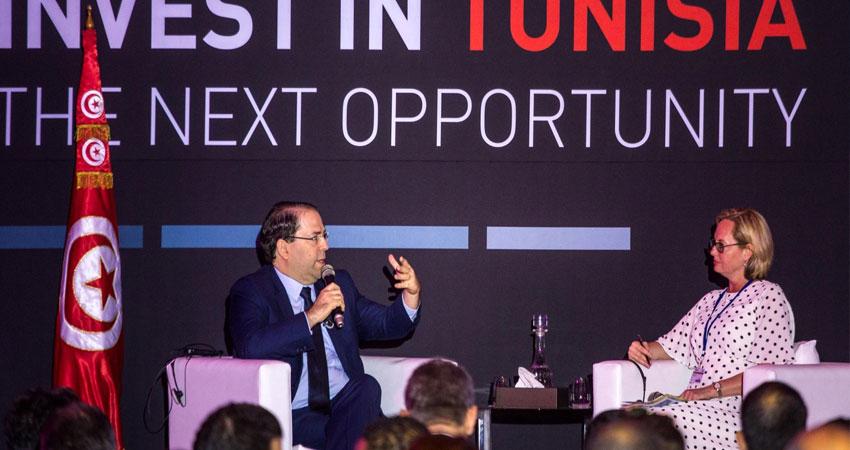 رئيس الحكومة يفتتح منتدى تونس للاستثمار