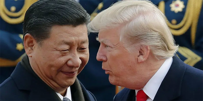 الصين مستاءة من ترمب, اتهامات بين واشنطن وبكين
