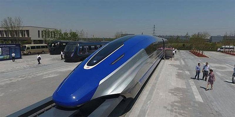 الصين تتحدى نفسها والعالم، قطار بسرعة أسطورية