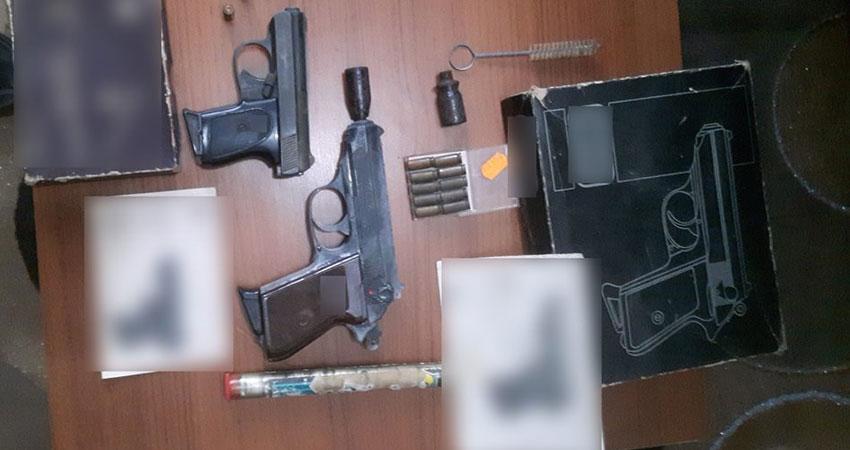 القيروان :القبض على شخص بحوزته مسدسين