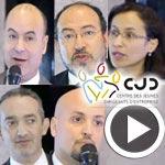 Mehdi Abdelmoula, Tarek Lassadi, Nizar Zouiten et Tawfik Jelassi parlent du E-commerce en Tunisie