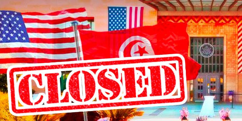 L'ambassade des Etats Unis fermée le lundi 1er juillet pour des raisons sécuritaires