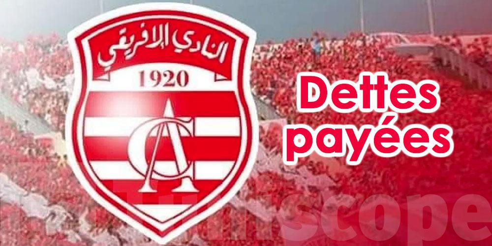12 millions de dinars de dettes payées pour le Club Africain