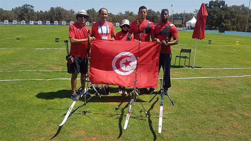 صور: المنتخب التونسي للرماية في نهائي الألعاب الإفريقية