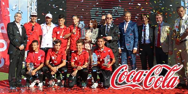 En vidéo : Coca–Cola célèbre les champions Tunisiens de la Copa Coca-Cola global Cup 2017