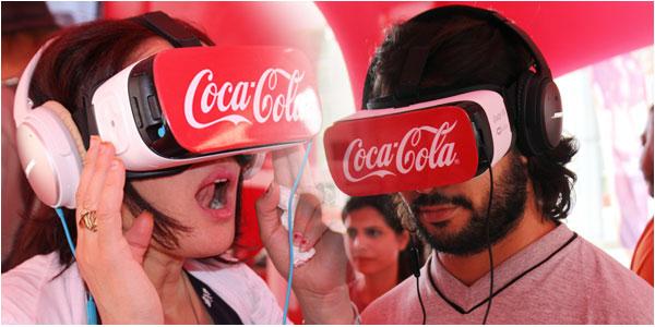 En photos : La Coca Cola Box of Feelings, une expérience unique de réalité virtuelle