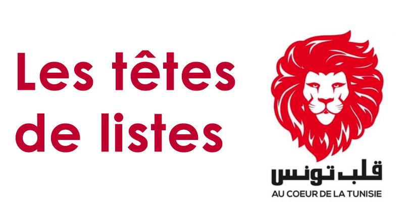 Qui sont les Têtes de listes d'Au Cœur de la Tunisie ?
