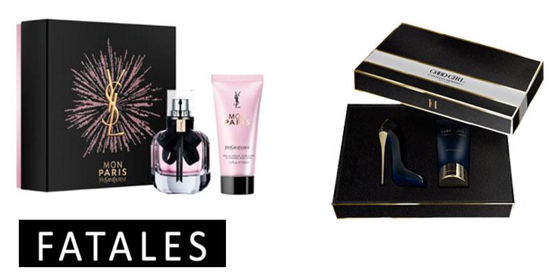 En photos : 5 coffrets de parfums disponibles chez Fatales à offrir pour les fêtes de fin d'année