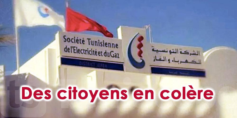 A Sousse, des citoyens en colère suite à une grève soudaine des agents de la STEG