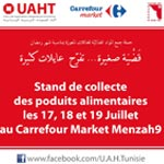 Collecte de produits alimentaires et d'aides pour les familles nécessiteuses