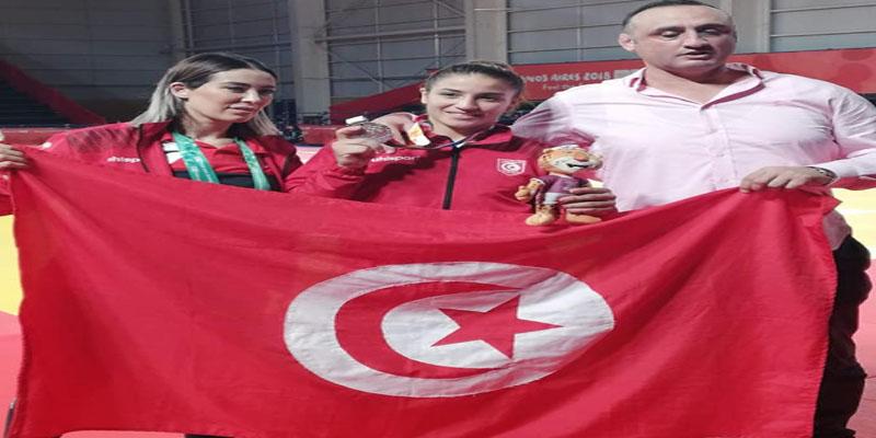 الالعاب الأولمبية للشباب الارجنتين 2018:المصارعة مريم الخليفي تحقق فضية تاريخية