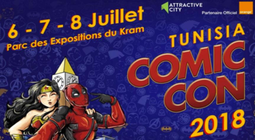 Comic Con Tunisia, revient le 6 juillet pour une édition qui s'annonce exceptionnelle