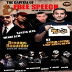 Le 24 et 26 février: concert The Capital of Free Speech in the Middle East
