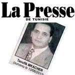 Une Femme annonce le décès d'un homme d'affaires bien vivant sur La Presse