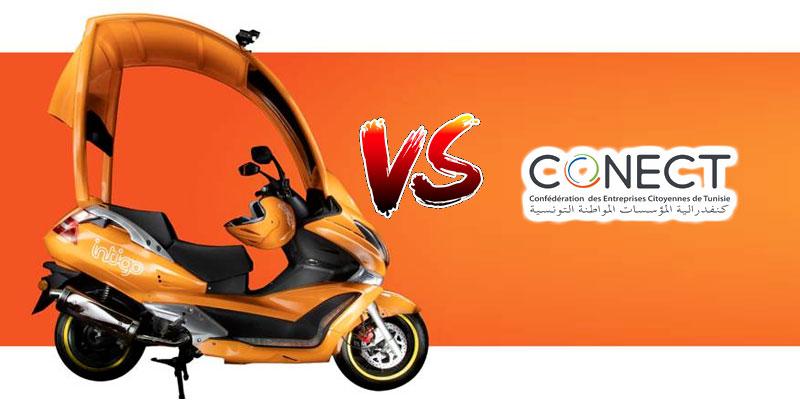 La Conect se dit contre le Taxi scooter